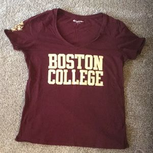 Boston College v-neck t-shirt